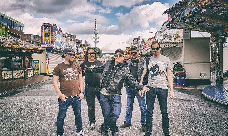(FOTO: Dark Ride Brothers) Die Dark Ride Brothers zu Gast in Hamburg auf ihrer ersten Deutschlandtournee.