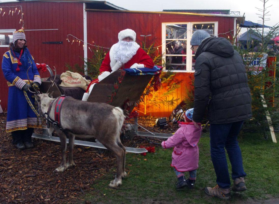 Weihnachtsmarkt Neuland-Park