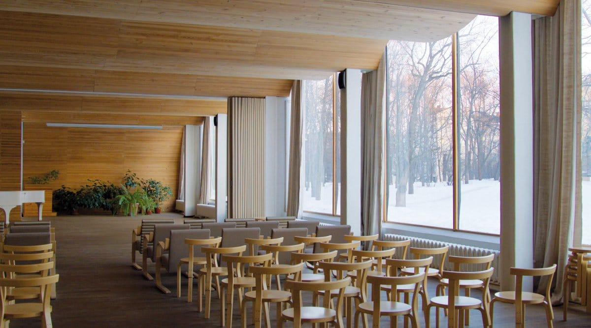Aalto Bibliothek in Wyborg