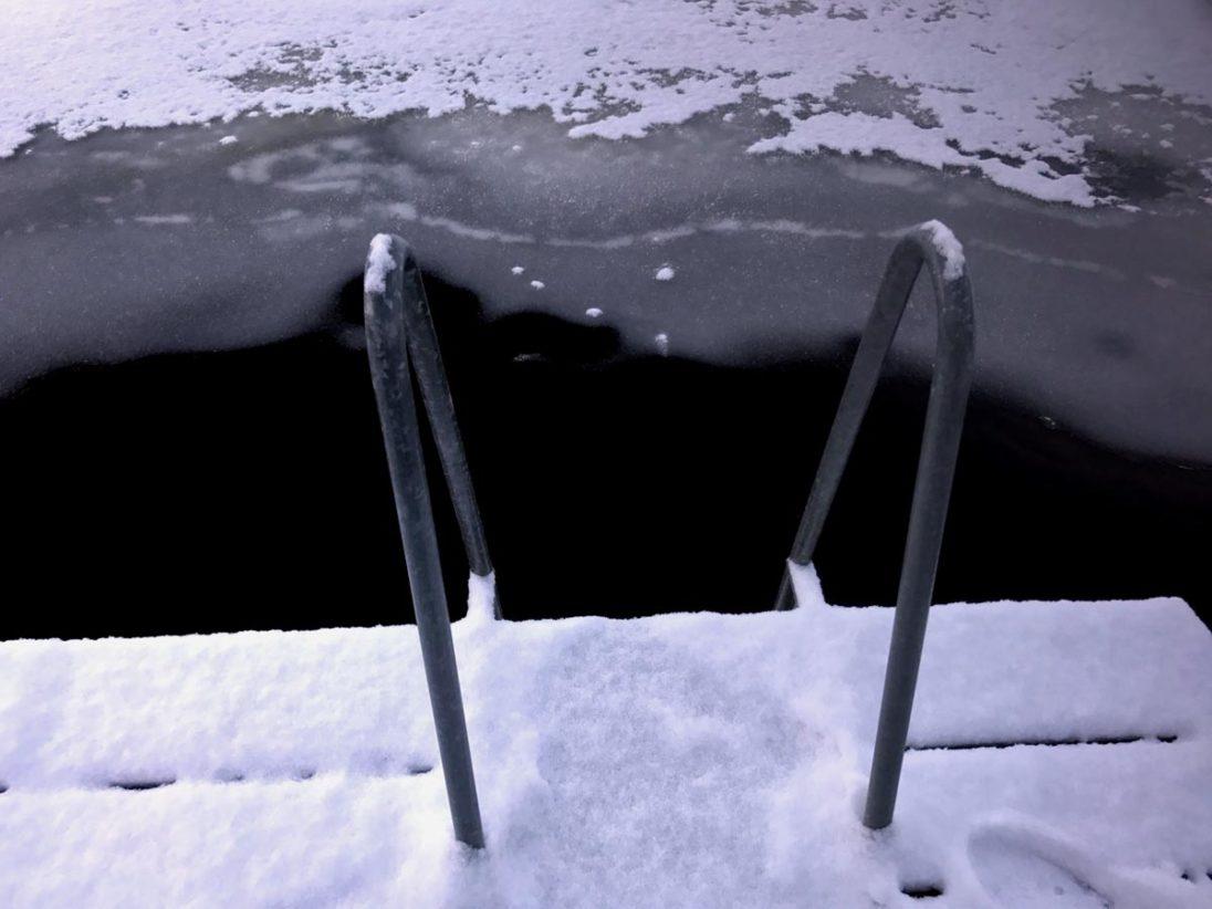 Ab ins kalte Wasser