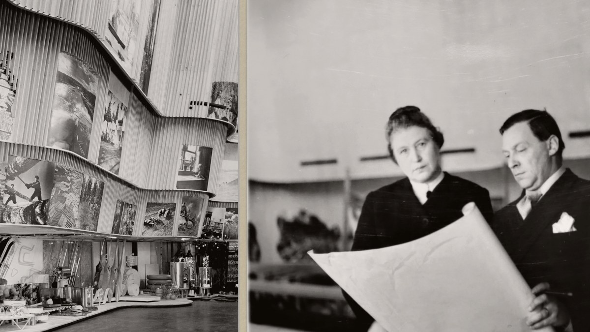 Aino und Alvar Aalto 1929 in New York