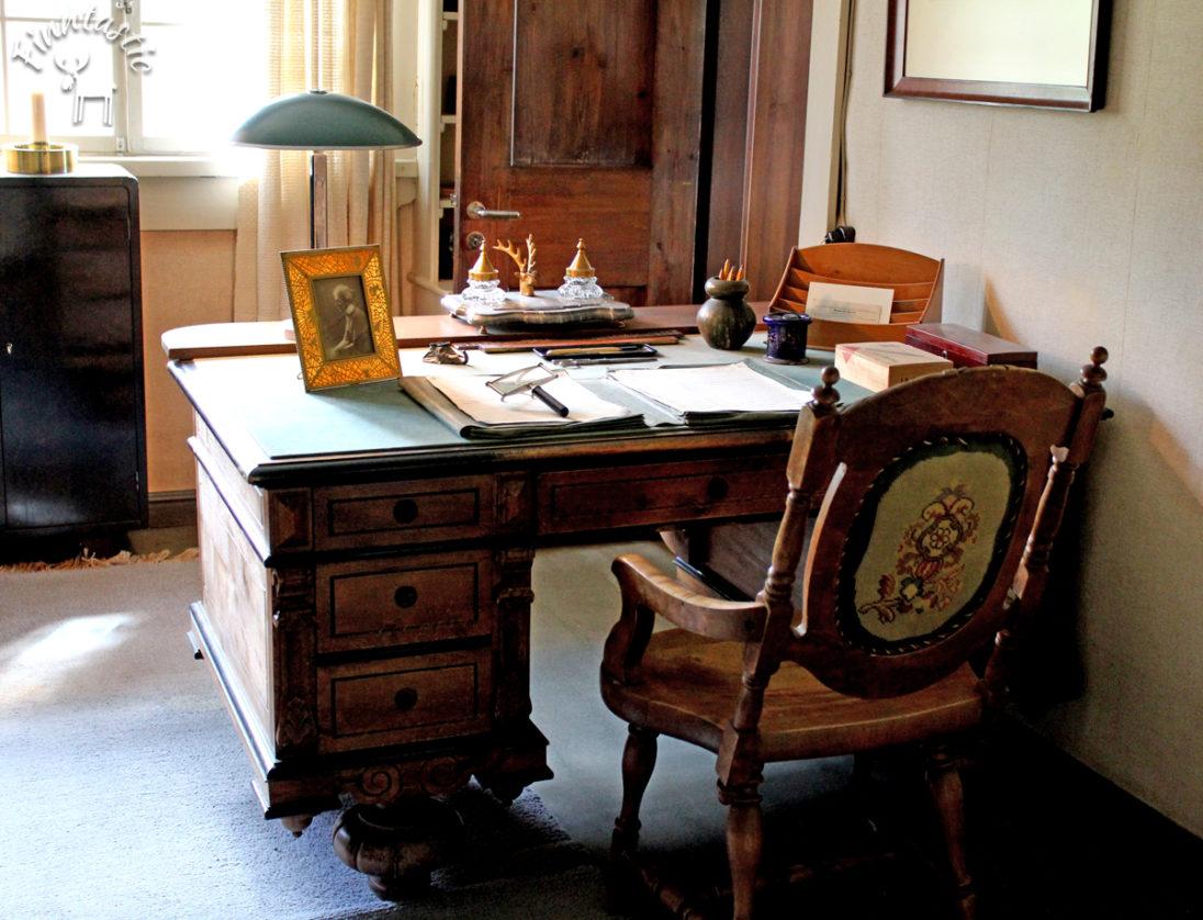 Jean Sibelius Schreibtisch