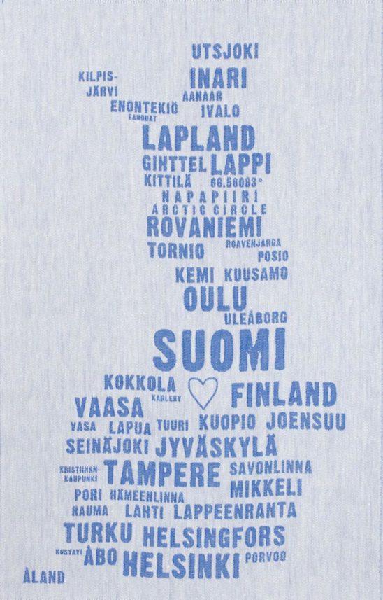 Finnland Geschirrtuch Lapuan Kankurit