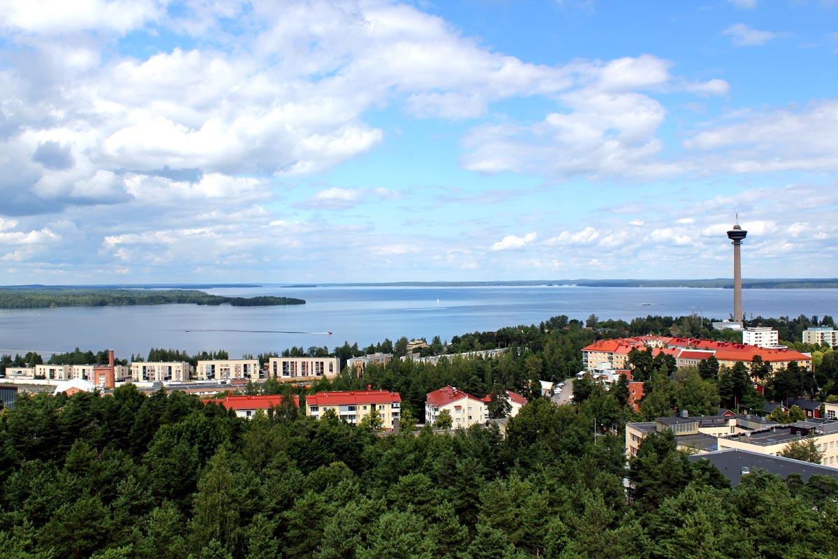 Blick auf Tampere
