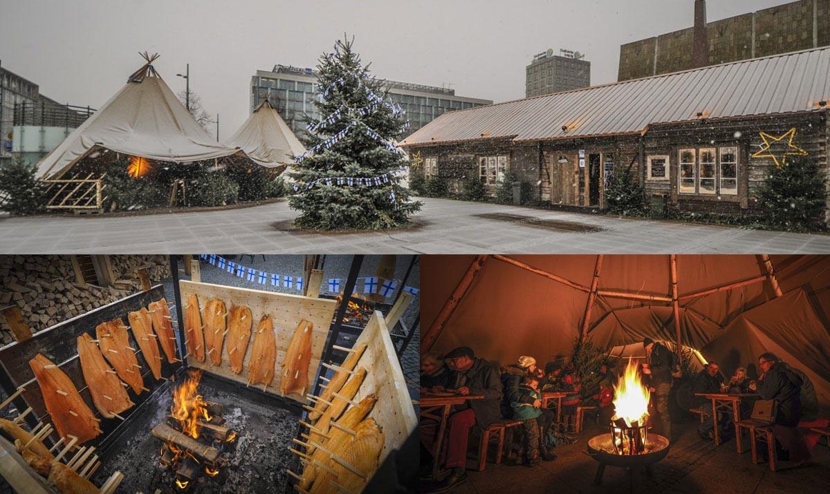 Finnisches Weihnachtsdorf Leipzig - Kalevala Spirit