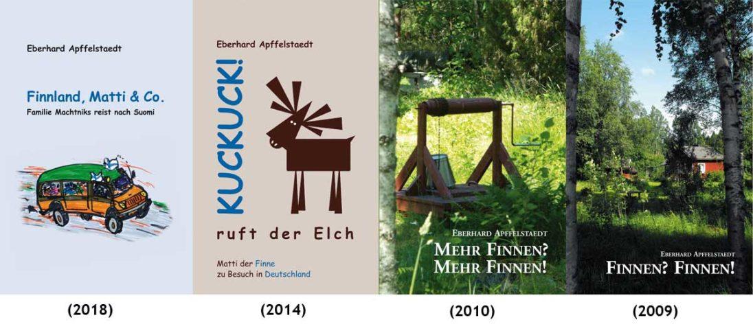 Finnbücher von Eberhard Apffelstaedt
