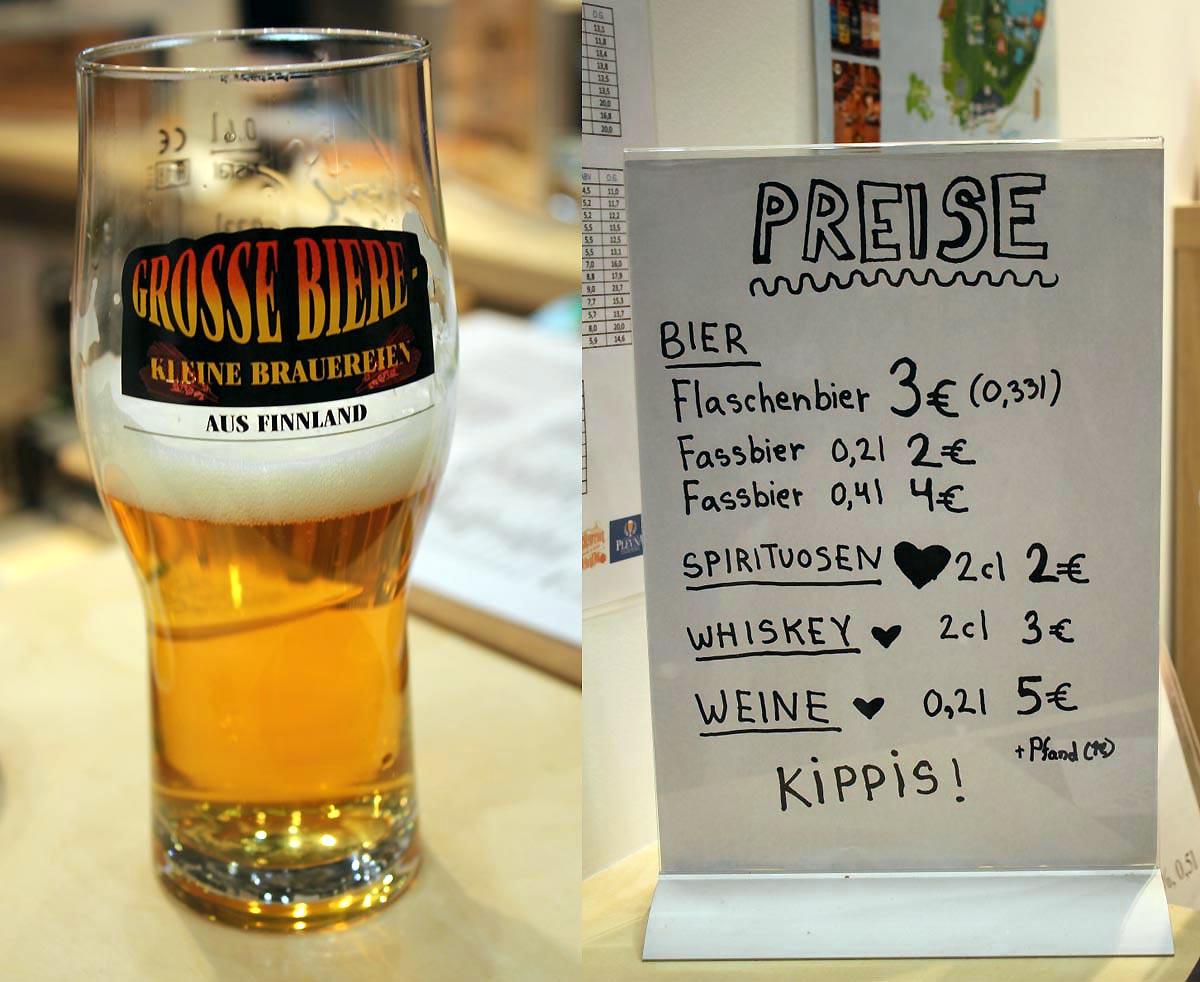 Finnische Craft-Bier Bar auf der Grünen Woche 2020