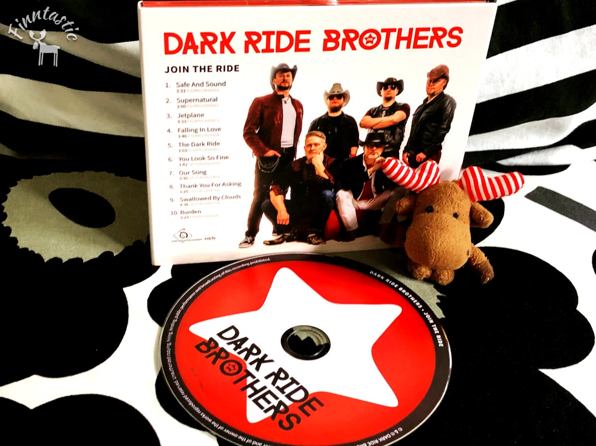 "Debutalbum Dark Ride Brothers ""Join the Ride"""
