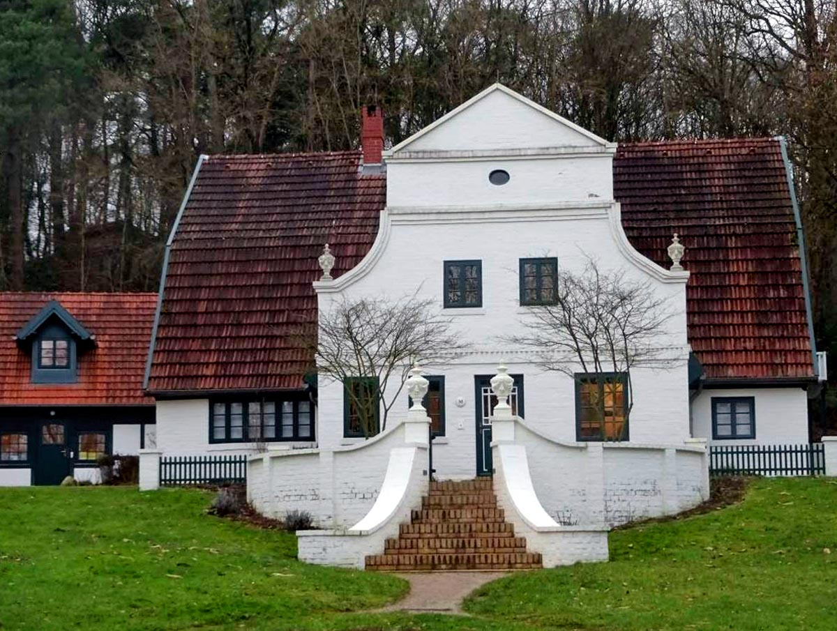 Häuser in Worpswede