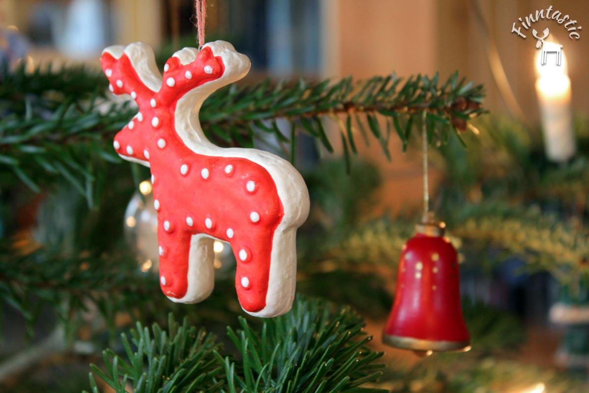 Elchanhänger Weihnachtsbaum