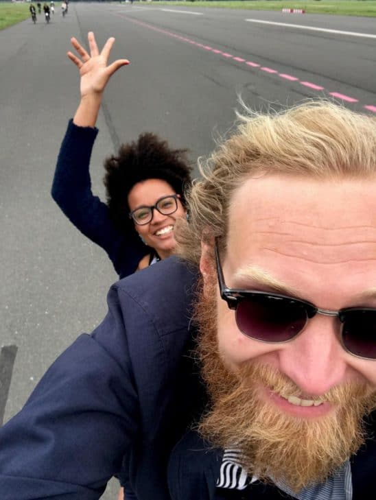 Oskari Lampisjärvi - Fahrradtouren durch Berlin