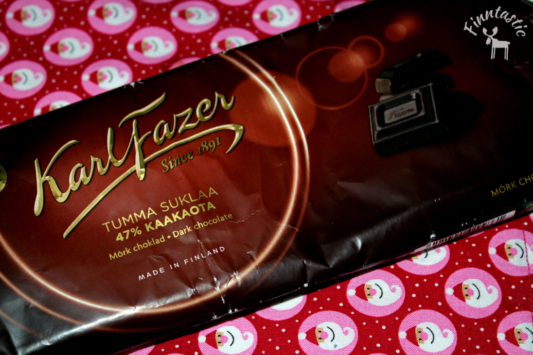 Fazerschokolade - zartbitter