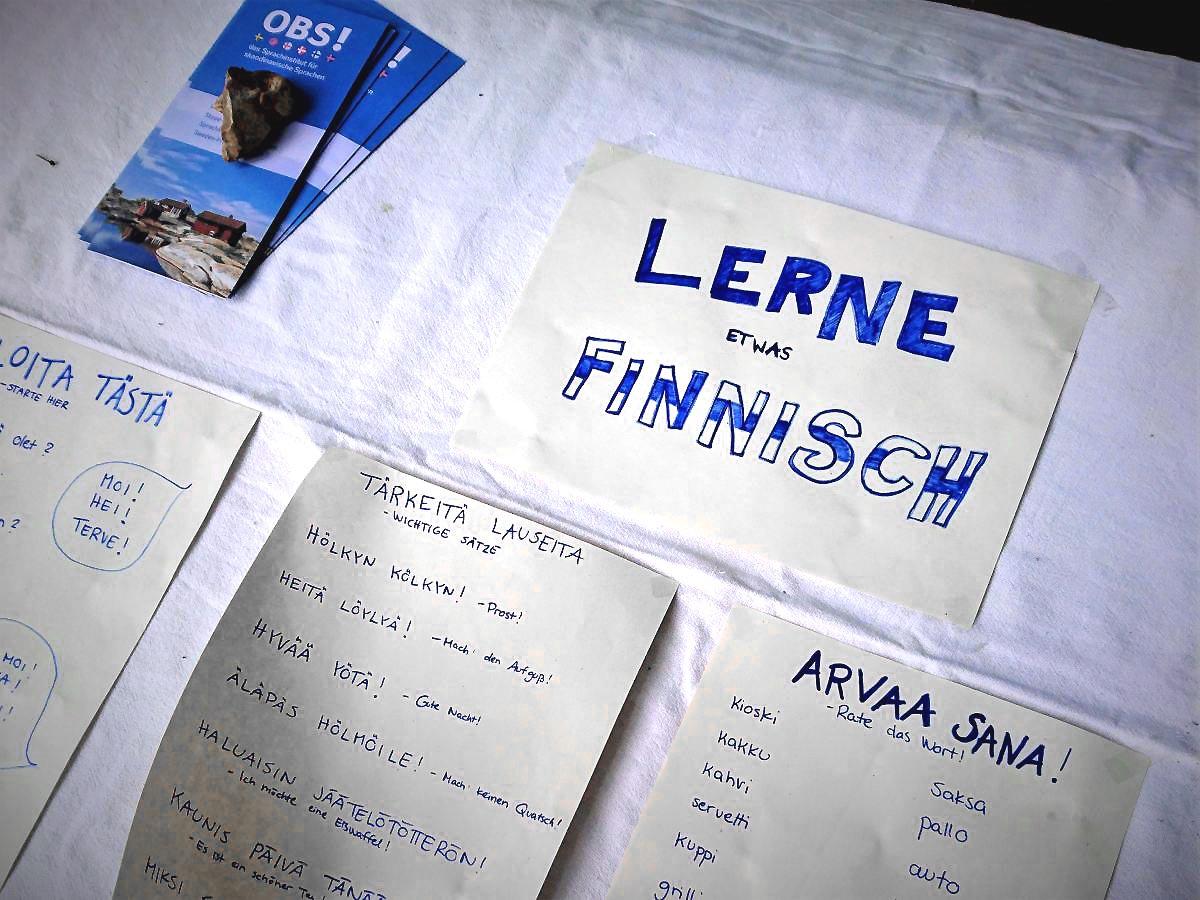 Finnisch lernen 2