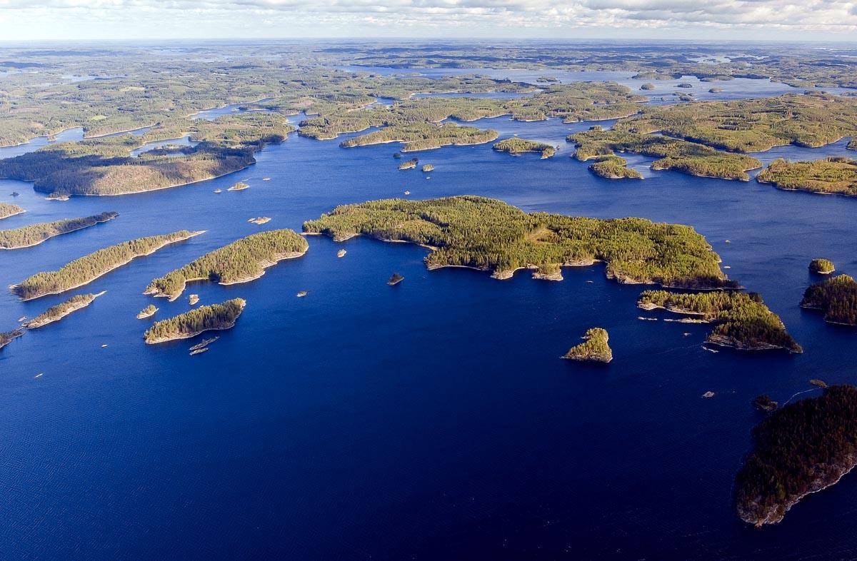 finnisches Seengebiet bei Kuopio