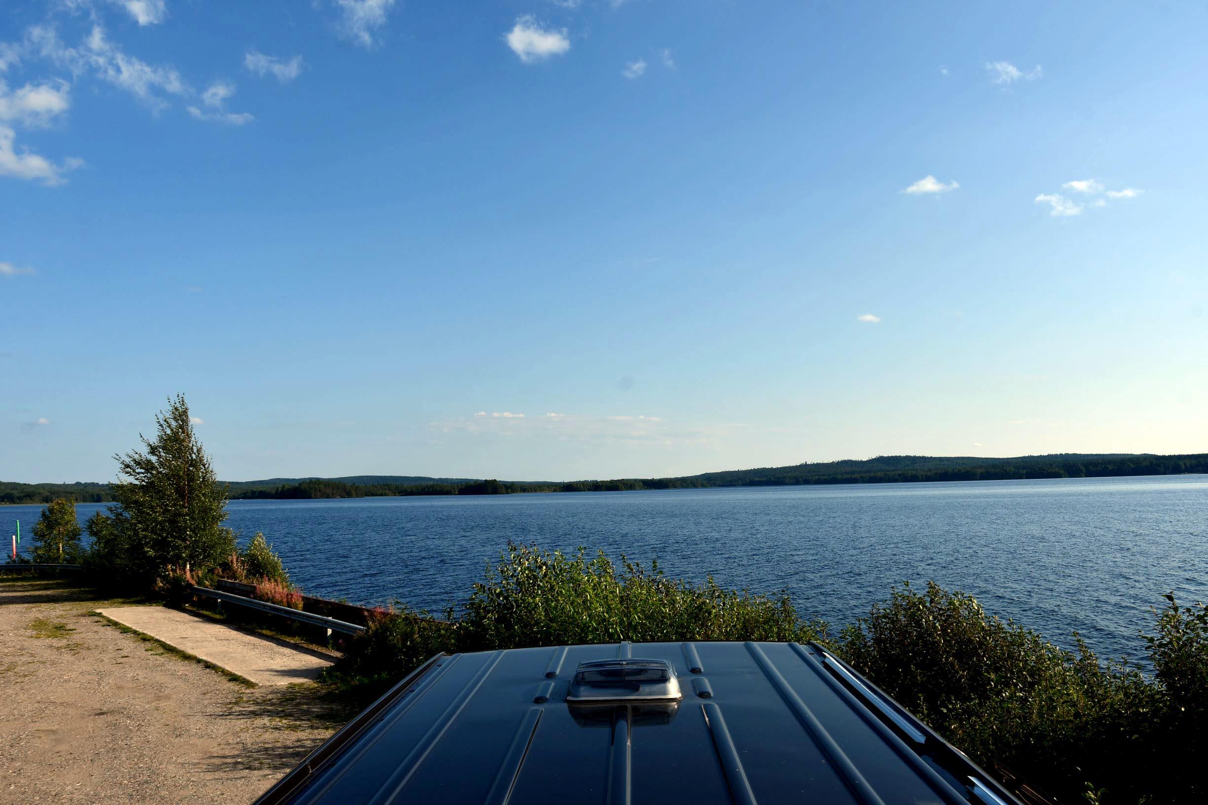 Finnlanduralub mit dem Wohbmobil