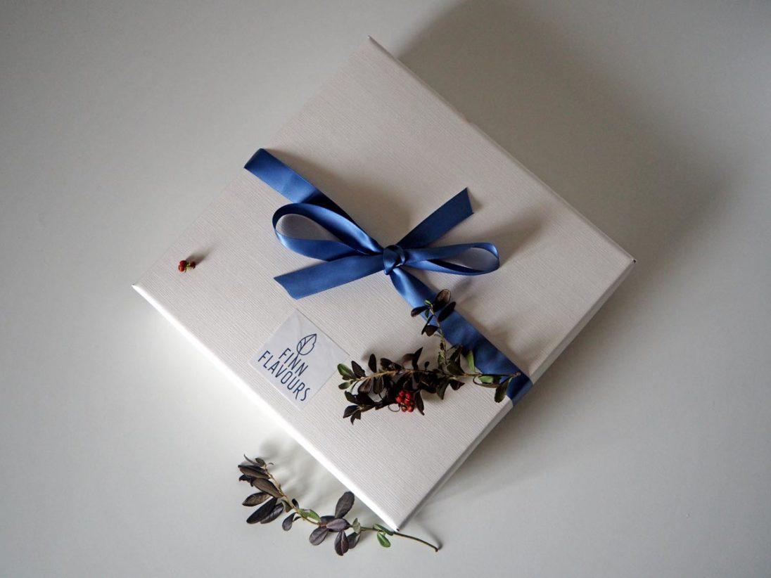 Finnflavours Produktpaket verpackt
