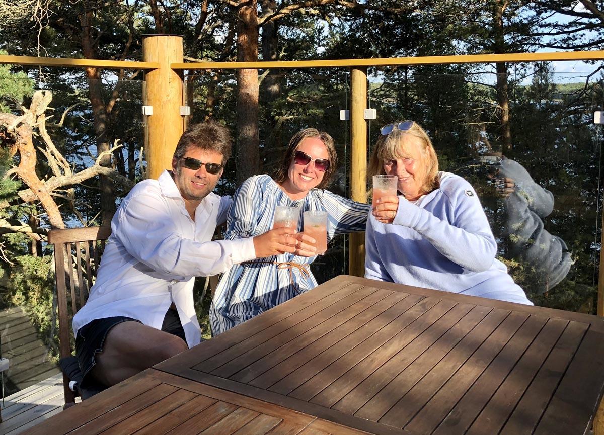 fintouring Daniel und Tina Lang und Regine Fischer