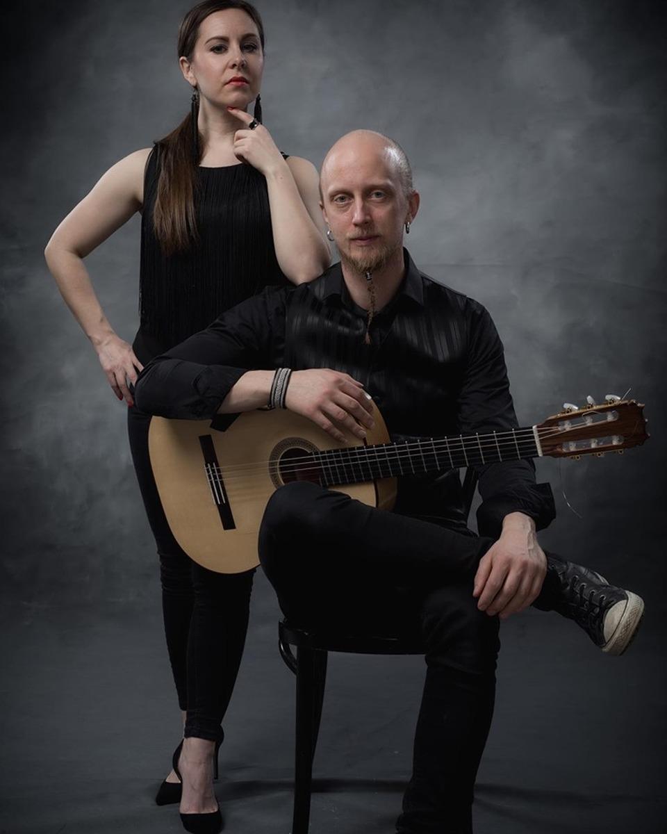 Flamenco-Duo Anna Murtola und Joonas Widenius