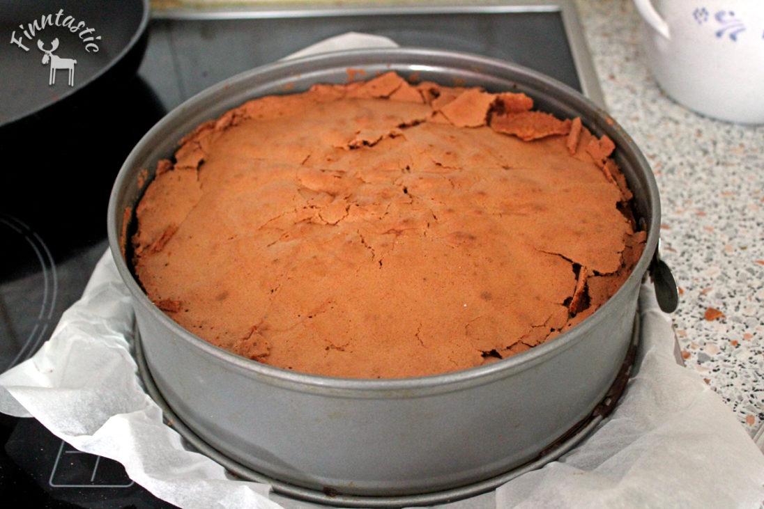fertiger Fazerschokoladenkuchen