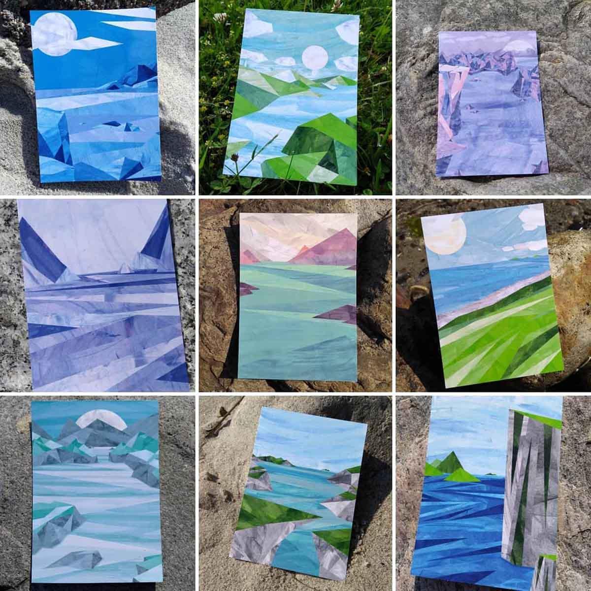 Gewinn-Set 1 Paperfjord