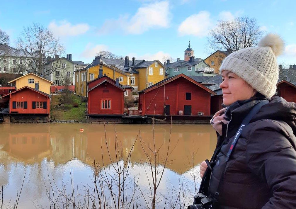 Gudrun Söffker in Porvoo