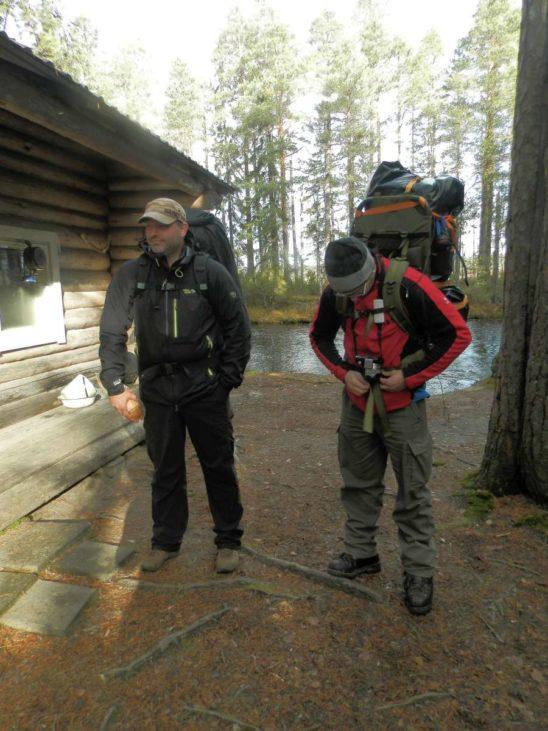 Hike and See mit Gepäck