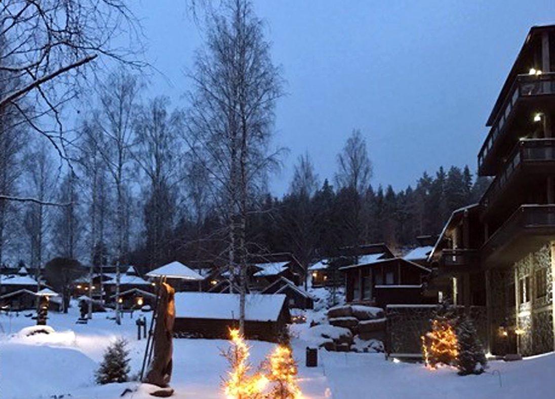 Hüttendorf des Hotel & Spa Järvisydän