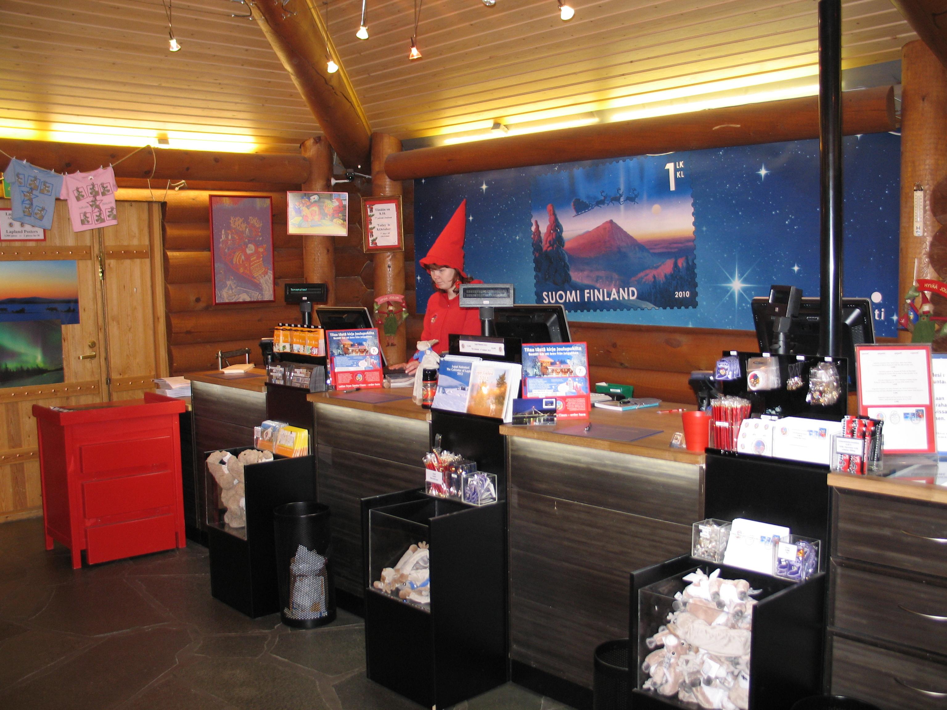 Hauptpostamt vom Weihnachtsmann in Rovaniemi
