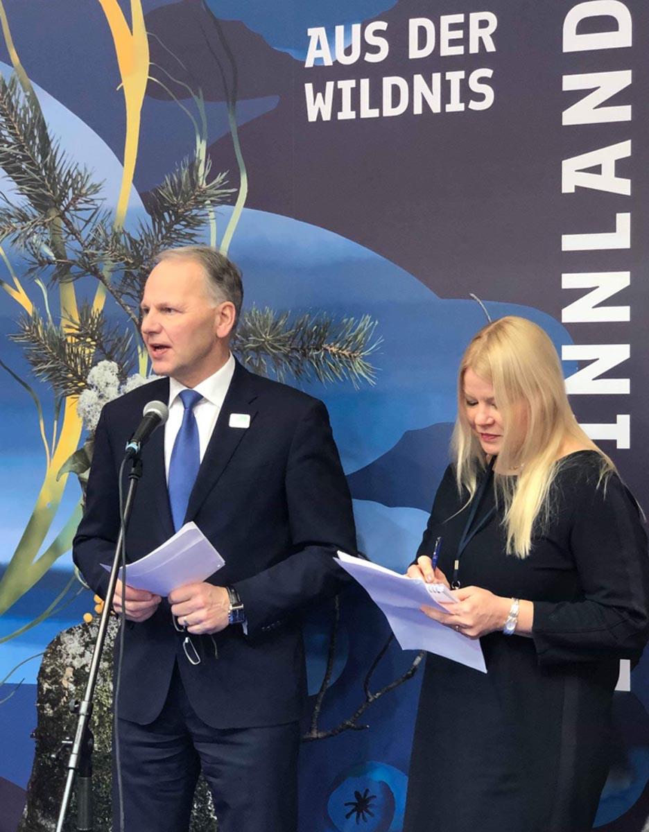 Finnlands Landwirtschaftsminister Jari Leppä