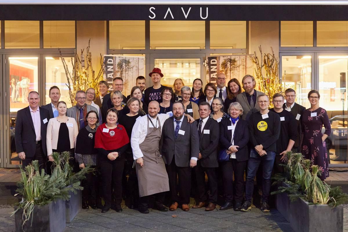 kulinarischer Netzwerkabend im SAVU Berlin