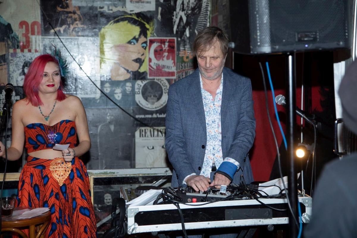 Wilma-Emilia Kuosa and DJ Bunuel