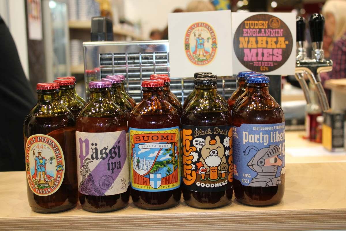 Biere von Olaf Brewing