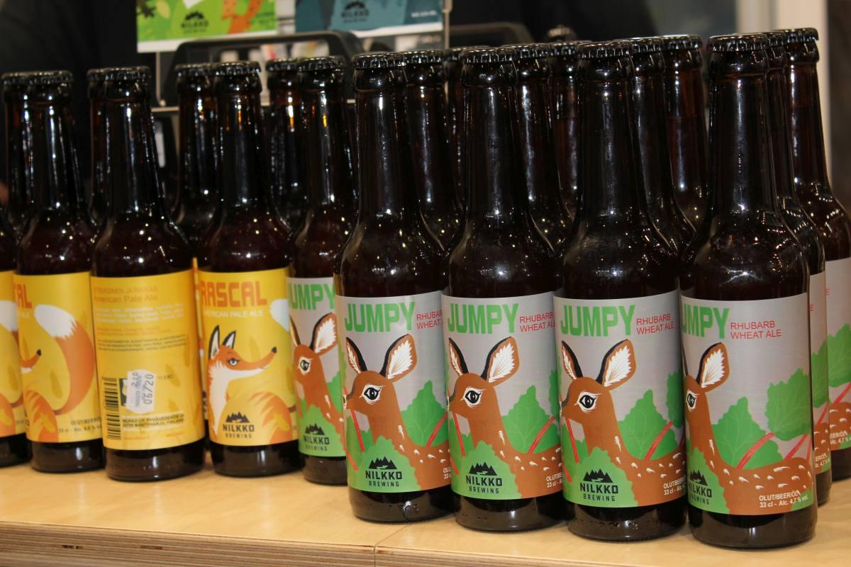 Biere der Nilkko Brauerei aus Mäntaharju