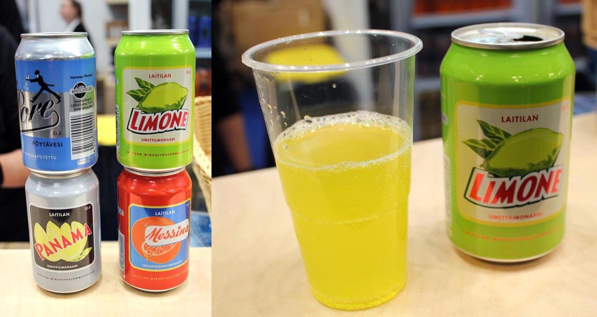 Limonaden von Kukko