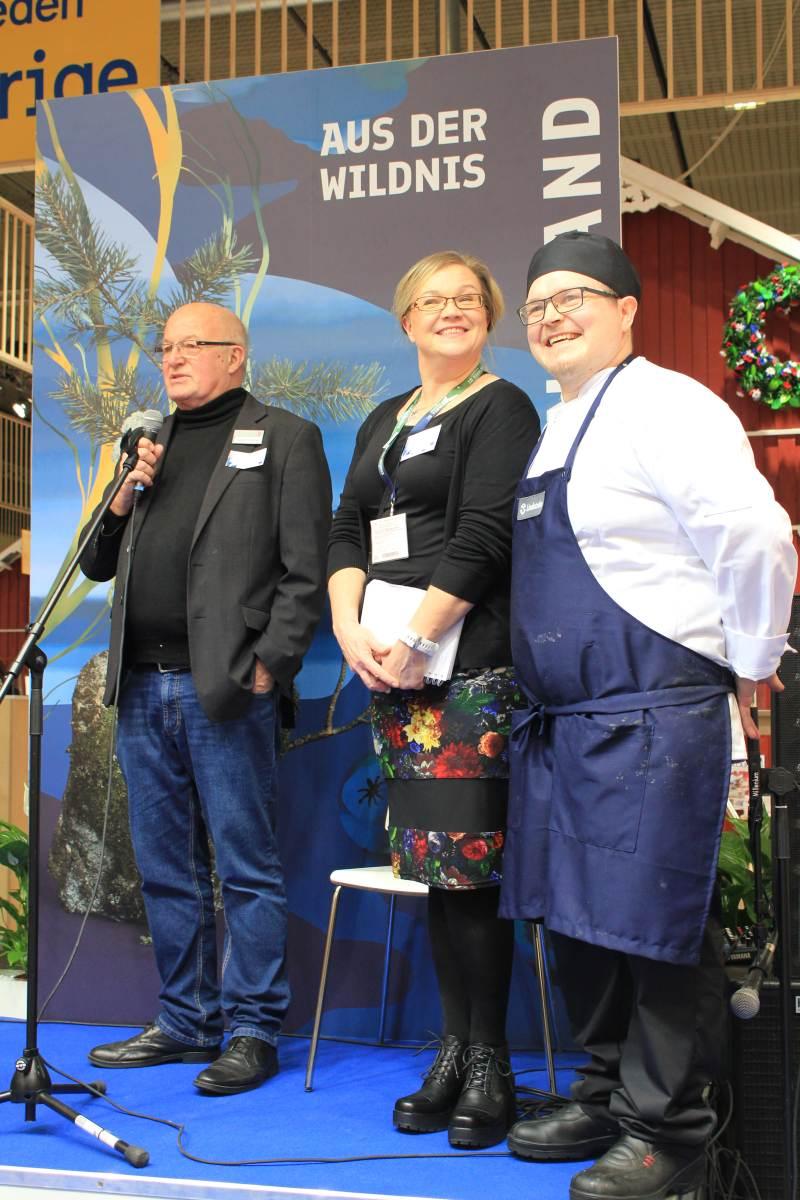 hessisch-finnische Kochkooperatioin auf der Grünen Woche 2020