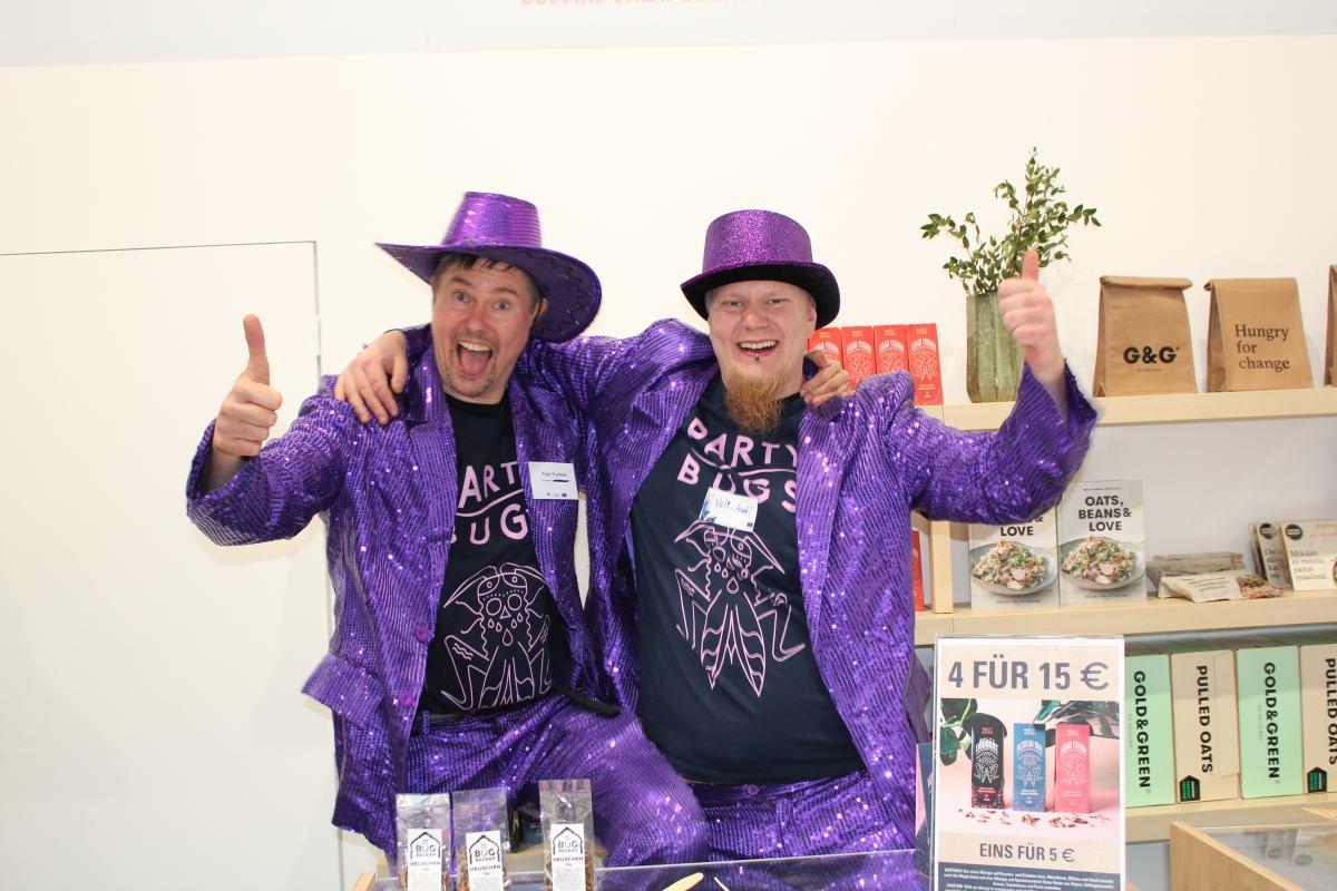 Pasi Porkka und Welli-Matti Welu von Party Bugs