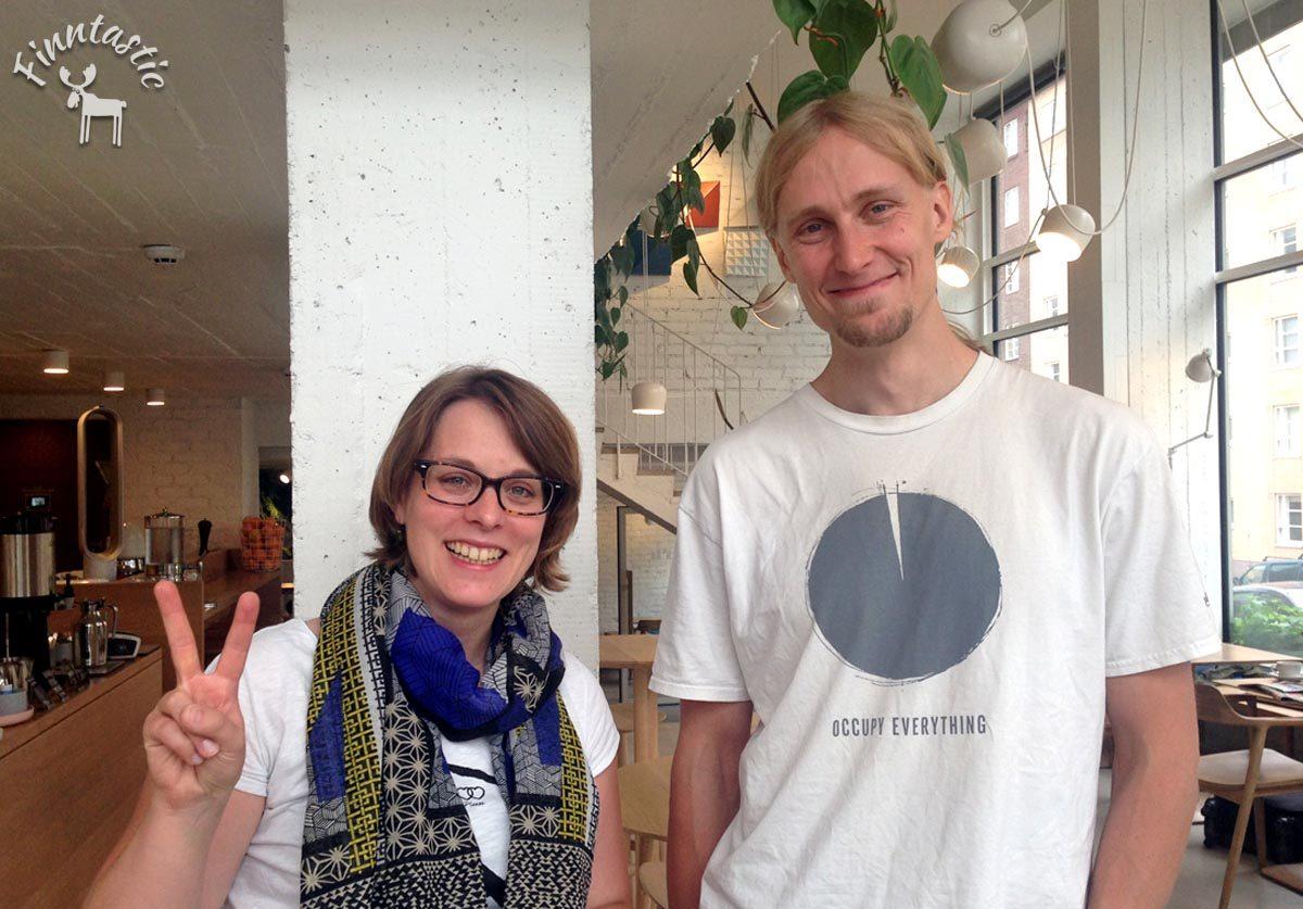 Jaakko Blomberg im Gespräch mit Finntastic
