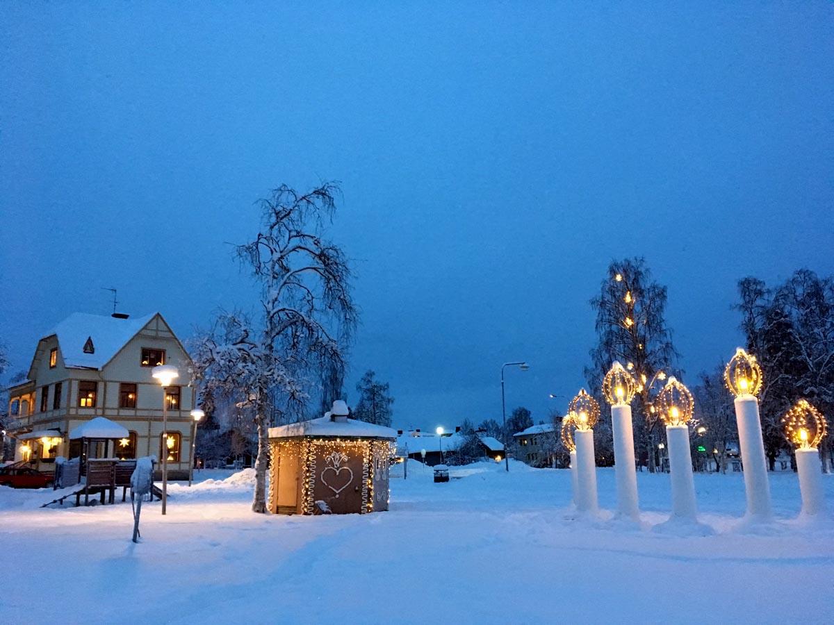 Weihnachten in Jokkmokkk