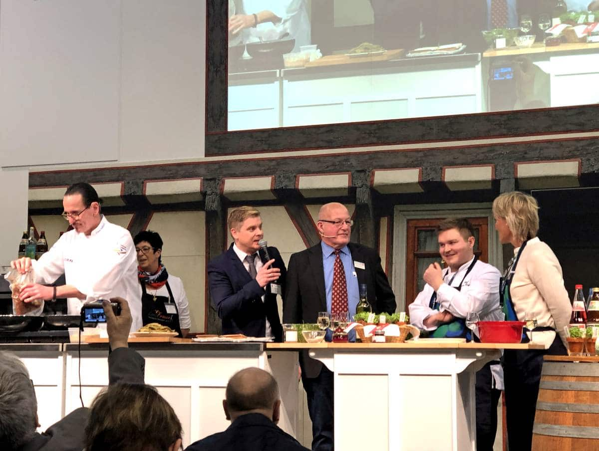 Hessian-Finnish Cooking event at the international Green Week 2019