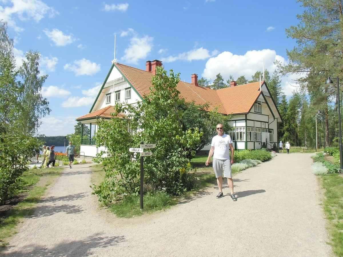 Kotkanniemi Haus in Luumäki Haus von Präsident Svinhuvud