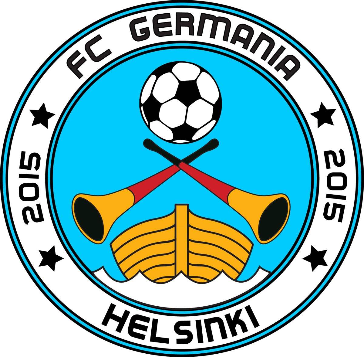 Logo FCGermania Helsinki