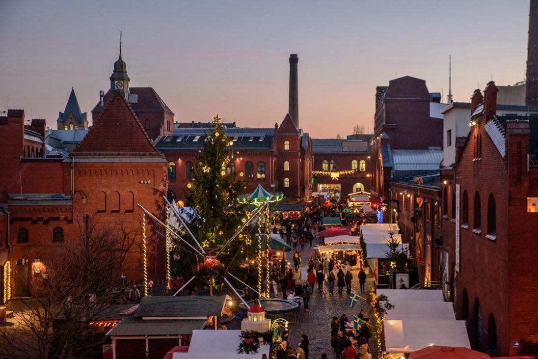 Lucia Weihnachtsmarkt Kulturbrauerei Berlin