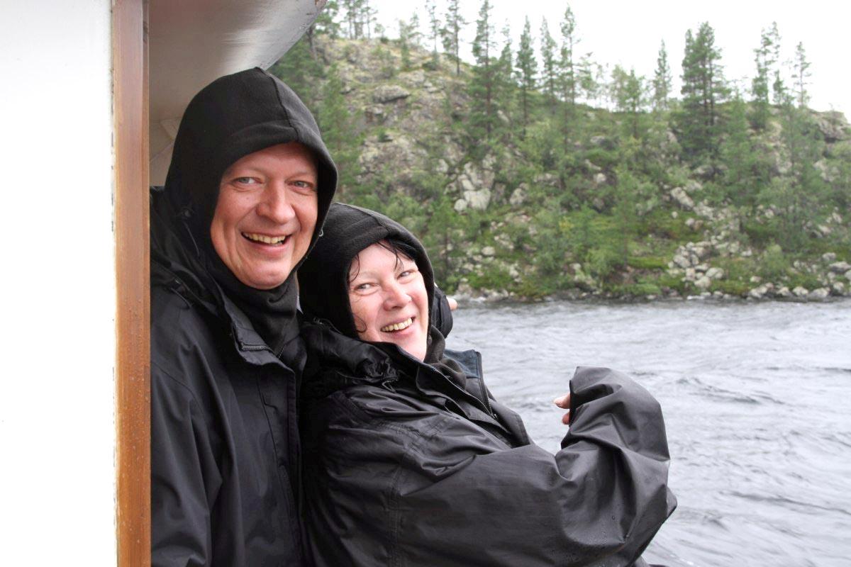 Mika und seine Frau und der Ukkokivi