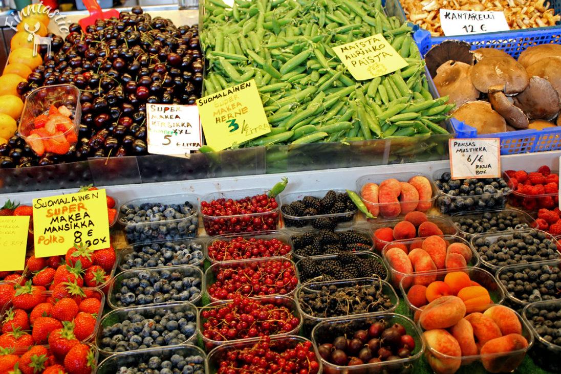 Finnischer Wochenmarkt