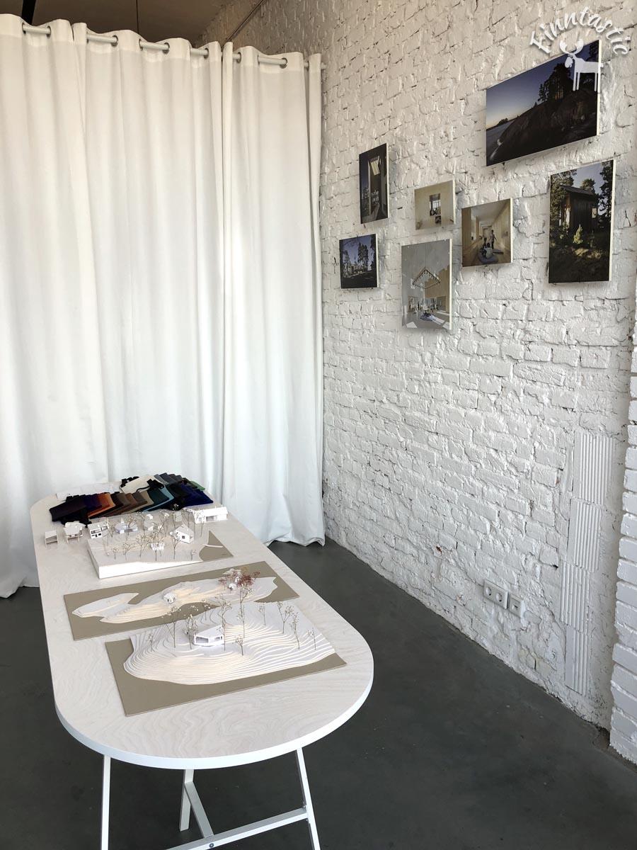 Ausstellung über die Projekte von Mer Arkkitehdit