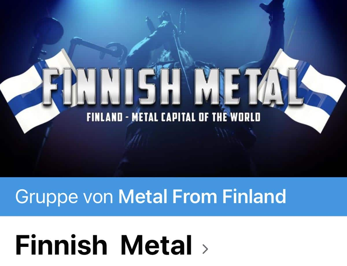 Metal from Finland Facebook Group