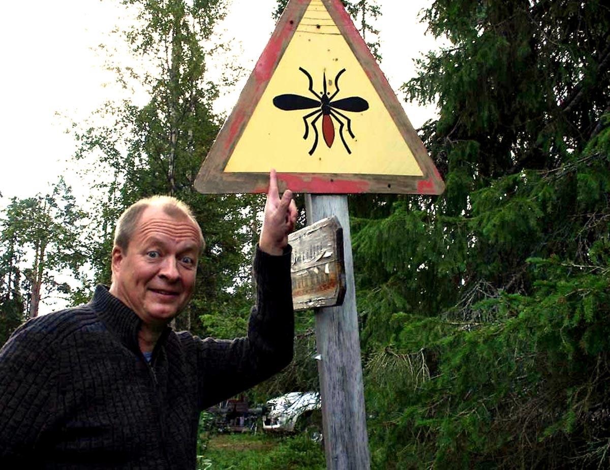 Mückenwarnung in Lappland