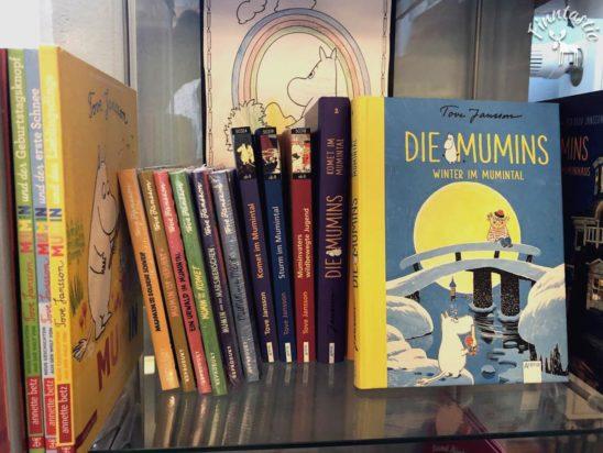 Muminbücher von Tove Jansson