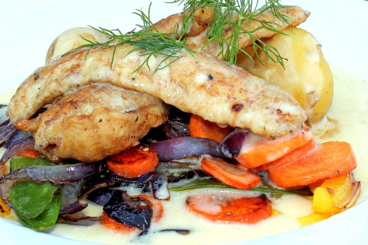 Nordisches Fischgericht