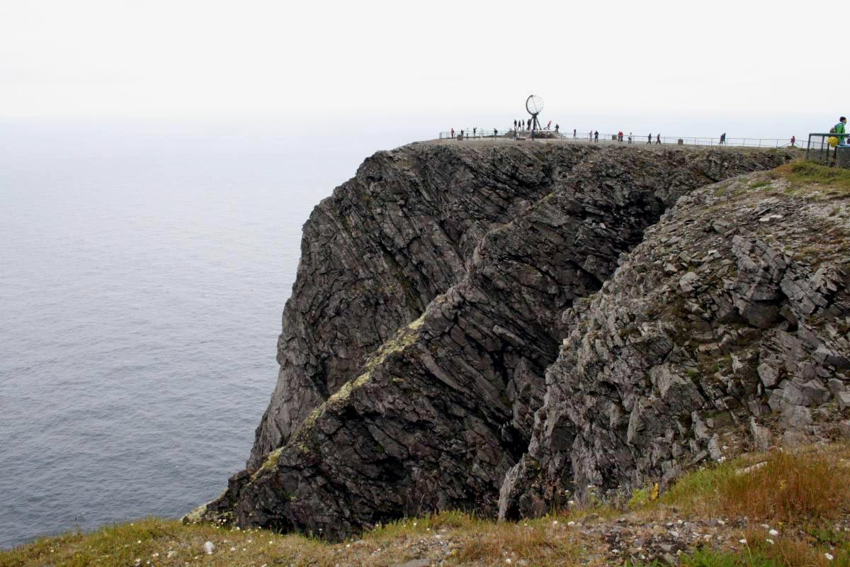 Nordkap von der Seite